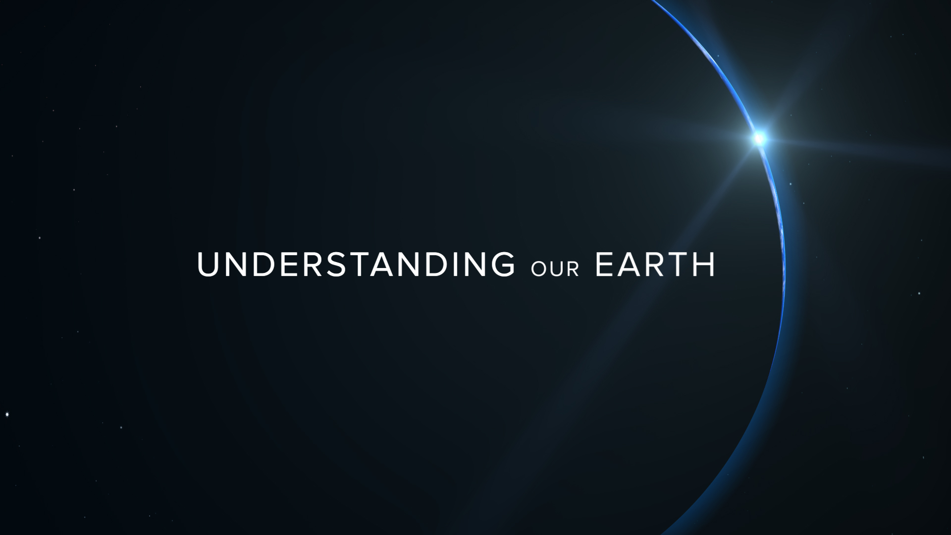 Understanding our earth